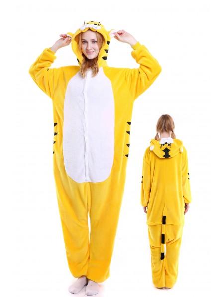 Tiger Kigurumi Onesie Pajamas Soft Flannel Unisex Animal Costumes