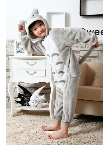Totoro Onesie Kigurumi Pajamas Kids Animal Costumes For Teens
