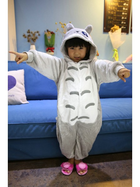 Totoro Onesie Kigurumi Pajamas Kids Animal Costumes For Teens