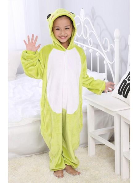 Frog Onesie Kigurumi Pajamas Kids Animal Costumes For Teens