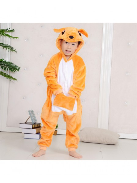Kangaroo Onesie Kigurumi Pajamas Kids Animal Costumes For Teens