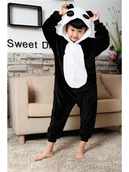 Pandas Onesie Kigurumi Pajamas Kids Animal Costumes For Teens
