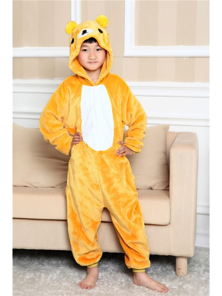 Rilakkuma Onesie Kigurumi Pajamas Kids Animal Costumes For Teens