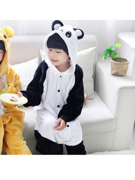 Panda Onesie Kigurumi Pajamas Kids Animal Costumes For Teens