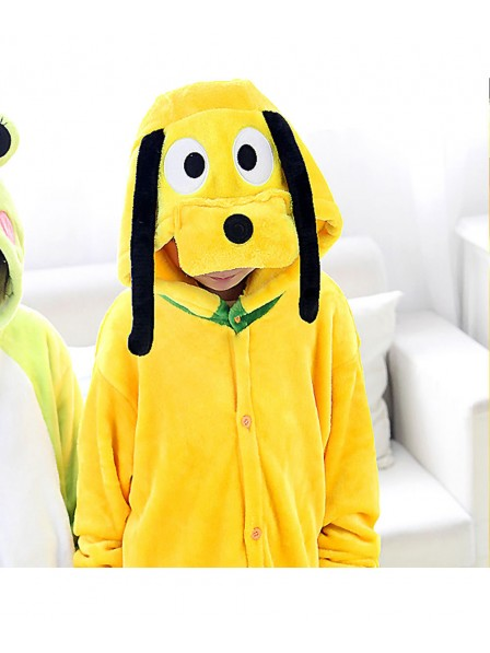 Goofy Dog Onesie Kigurumi Pajamas Kids Animal Costumes For Teens