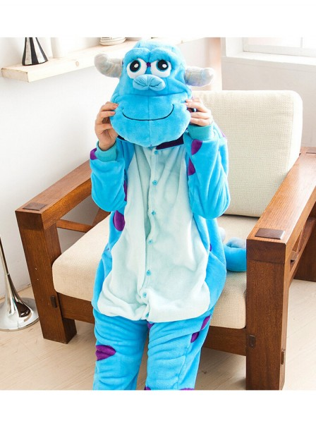 Sullivan Onesie Kigurumi Pajamas Kids Animal Costumes For Teens