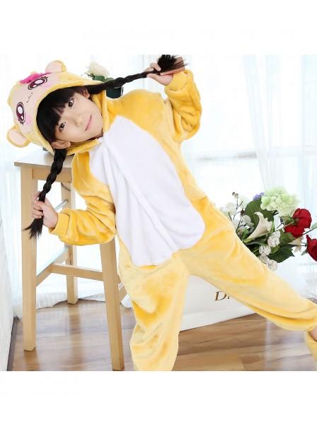 Girls Monkey Onesie Kigurumi Pajamas Kids Animal Costumes For Teens