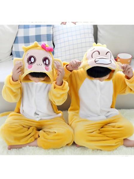 Boys Monkey Onesie Kigurumi Pajamas Kids Animal Costumes For Teens