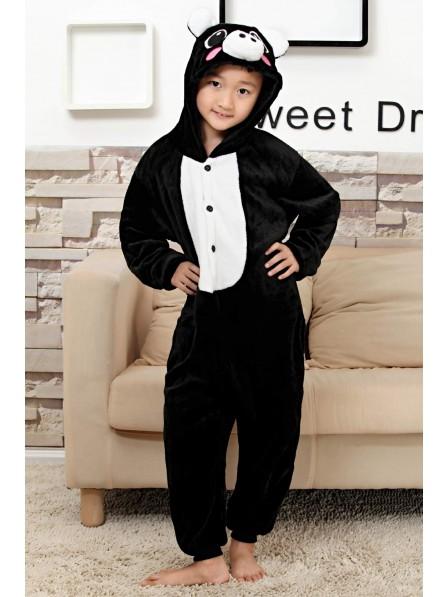 Black Pig Onesie Kigurumi Pajamas Kids Animal Costumes For Teens