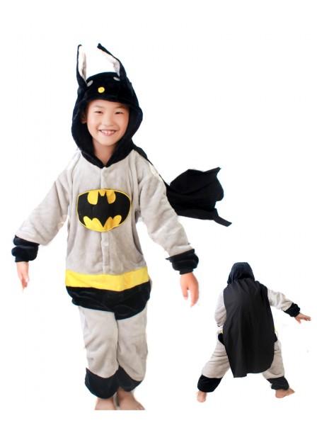 daaa93cd7d7819 Batman Onesie Kigurumi Pajamas Kids Animal Costumes For Teens