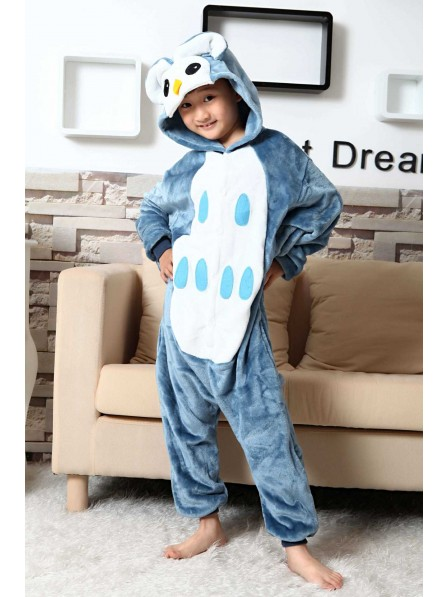 Owl Onesie Kigurumi Pajamas Kids Animal Costumes For Teens