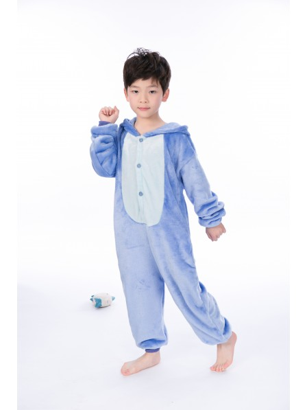 Stitch Onesie Kigurumi Pajamas Kids Animal Costumes For Teens