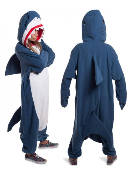 Shark Kigurumi Onesie Pajamas Polar Fleece Animal Unisex Costumes