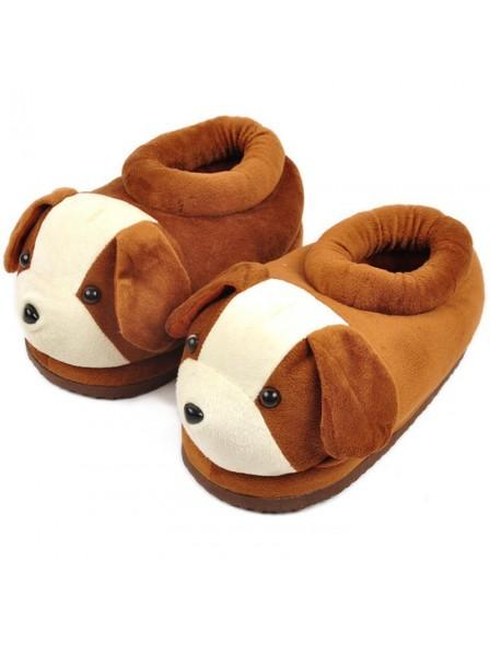 84799ee7055e Dog Unisex Plush Paw Claw House Slippers Animal Costume Shoes