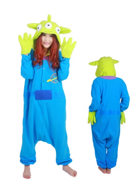 Three Eyed Monster Kigurumi Onesie Pajama Animal Unisex Costumes