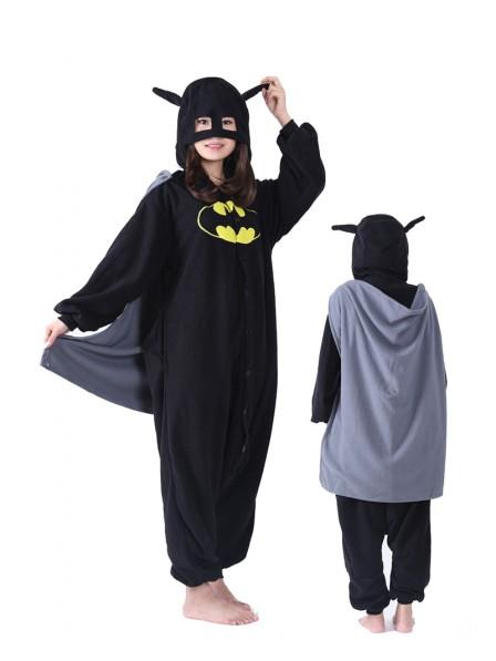 Batman Kigurumi Onesie Pajama Animal Unisex Costumes