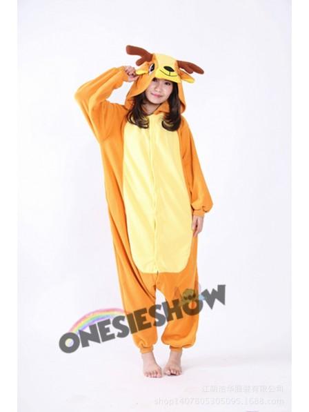 2377f171192e Sika Deer Kigurumi Onesie Pajama Animal Unisex Costumes
