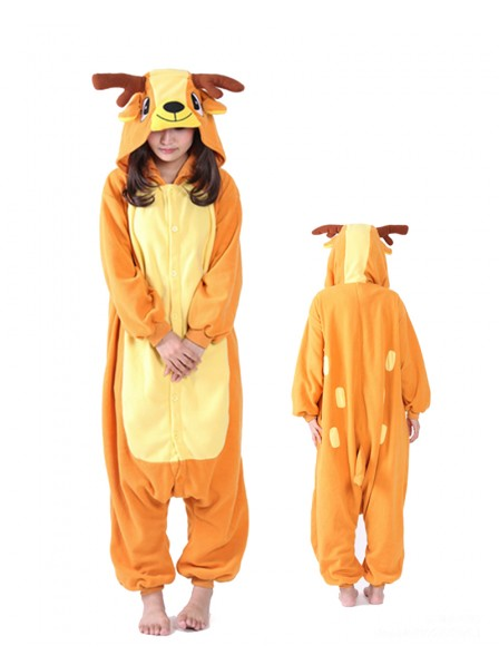 Sika Deer Kigurumi Onesie Pajama Animal Unisex Costumes