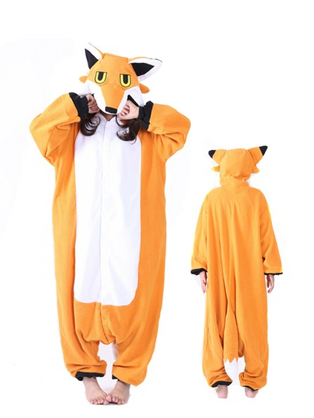Mister Fox Kigurumi Onesie Pajamas Animal Unisex Costumes