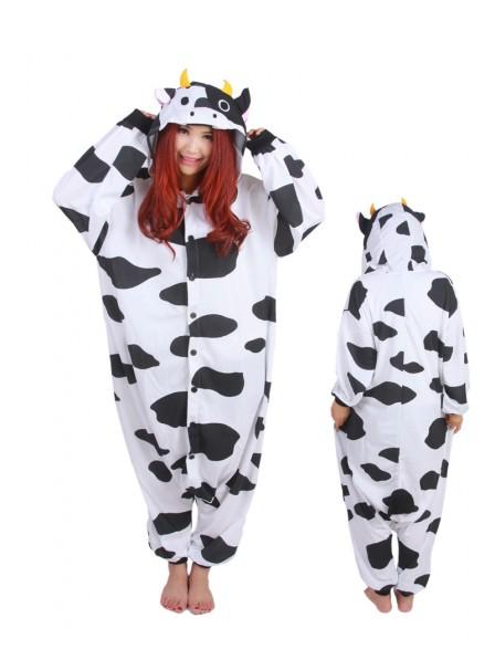 Cow Kigurumi Onesie Pajamas Animal Unisex Costumes