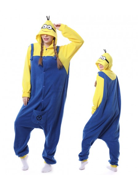 Minions Kigurumi Onesie Pajamas Animal Unisex Costumes