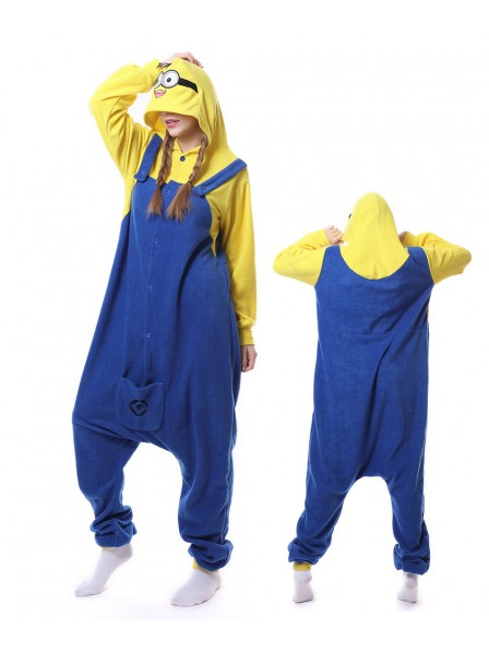 Cute Minions Kigurumi Onesie Pajamas Animal Unisex Costumes