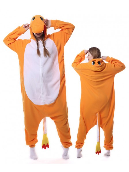 Charmander Kigurumi Onesie Pajamas Animal Unisex Costumes