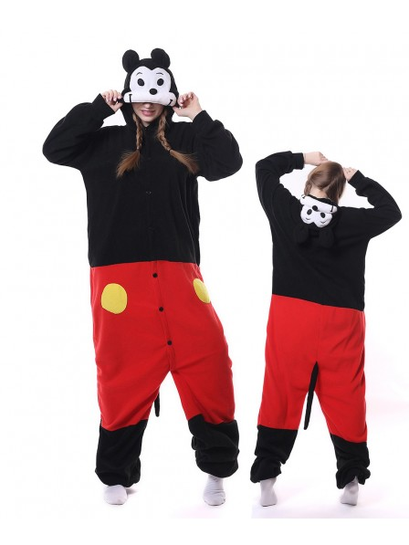 Cute Mickey Kigurumi Onesie Pajamas Animal Unisex Costumes