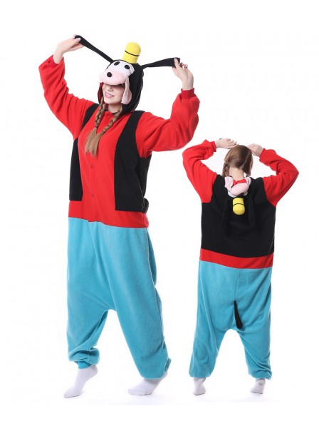Goofy Dog Kigurumi Onesie Pajamas Animal Unisex Costumes