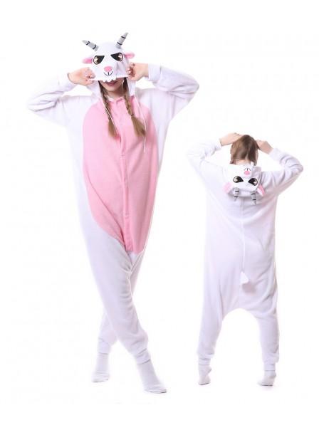 Goat Kigurumi Onesie Pajamas Animal Unisex Costumes