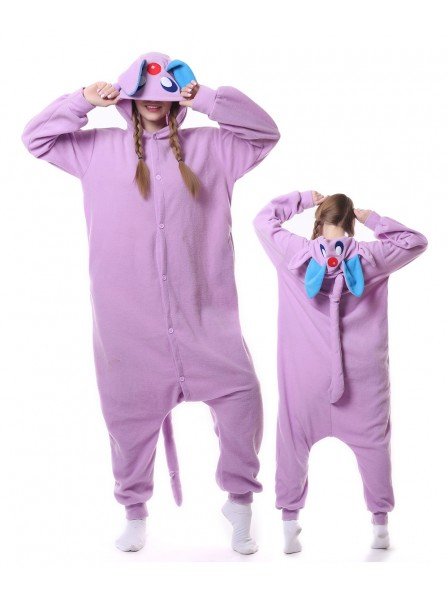 Pokemon Purple Monster Kigurumi Onesie Pajamas Animal Unisex Costumes