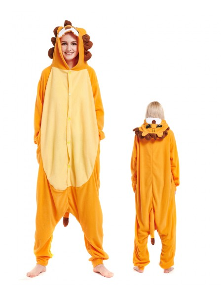 Lion Kigurumi Onesie Pajamas Animal Unisex Costumes