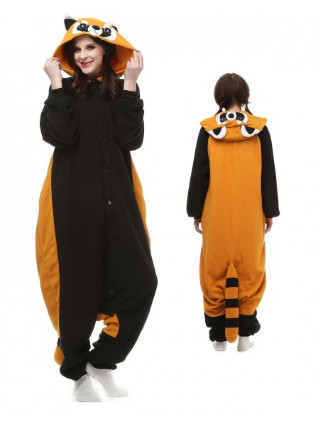 Red Panda Kigurumi Onesie Pajamas Polar Fleece Animal Unisex Costumes