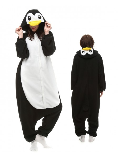 Penguin Kigurumi Onesie Pajamas Polar Fleece Animal Unisex Costumes