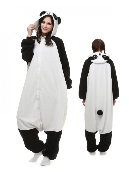 Panda Kigurumi Onesie Pajamas Polar Fleece Animal Unisex Costumes