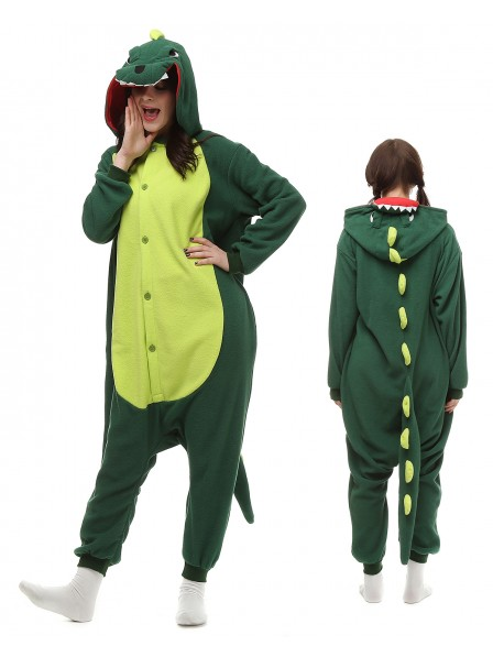 Dinosaur Kigurumi Onesie Pajamas Polar Fleece Animal Unisex Costumes