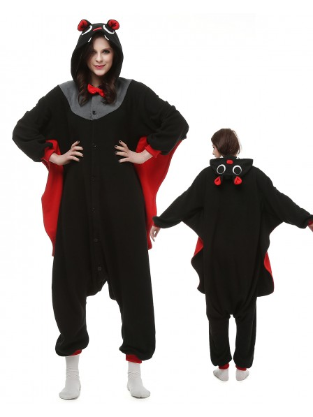 Bat Kigurumi Onesie Pajamas Polar Fleece Animal Unisex Costumes