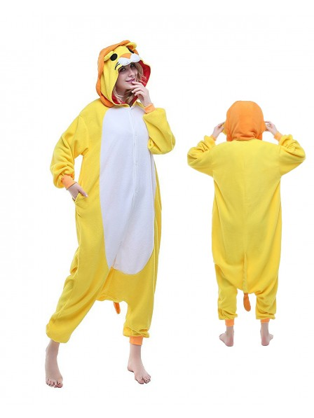Lion Kigurumi Onesie Pajamas Polar Fleece Animal Unisex Costumes