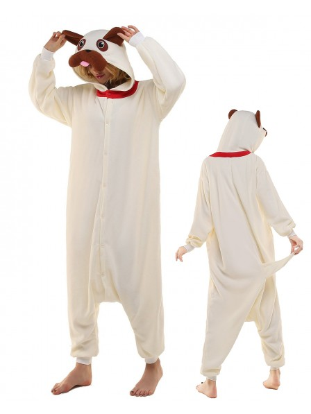 Pug Kigurumi Onesie Pajamas Polar Fleece Animal Unisex Costumes