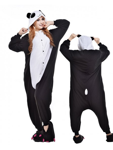 Pandas Kigurumi Onesie Pajamas Polar Fleece Animal Unisex Costumes