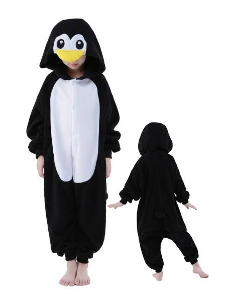 bcde3bd84280 Penguin Onesie Kids Kigurumi Polar Fleece Animal Costumes For Teens ...