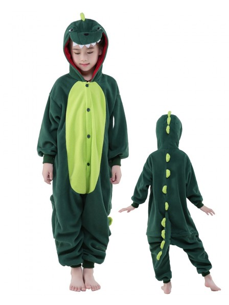 Dinosaur Onesie Kids Kigurumi Polar Fleece Animal Costumes For Teens