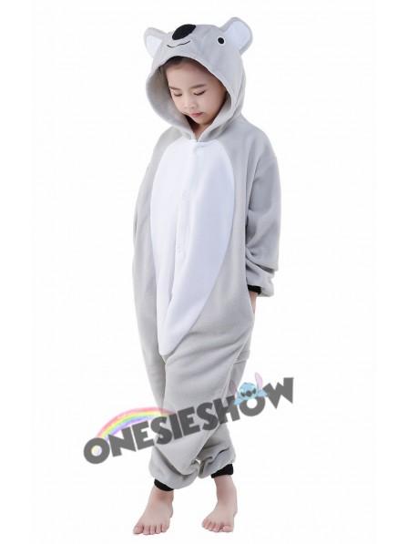 04a109e70d Koala Onesie Kids Kigurumi Polar Fleece Animal Costumes For Teens ...