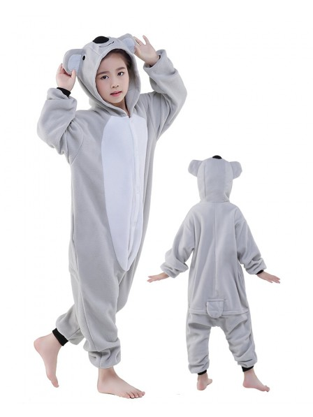 Koala Onesie Kids Kigurumi Polar Fleece Animal Costumes For Teens