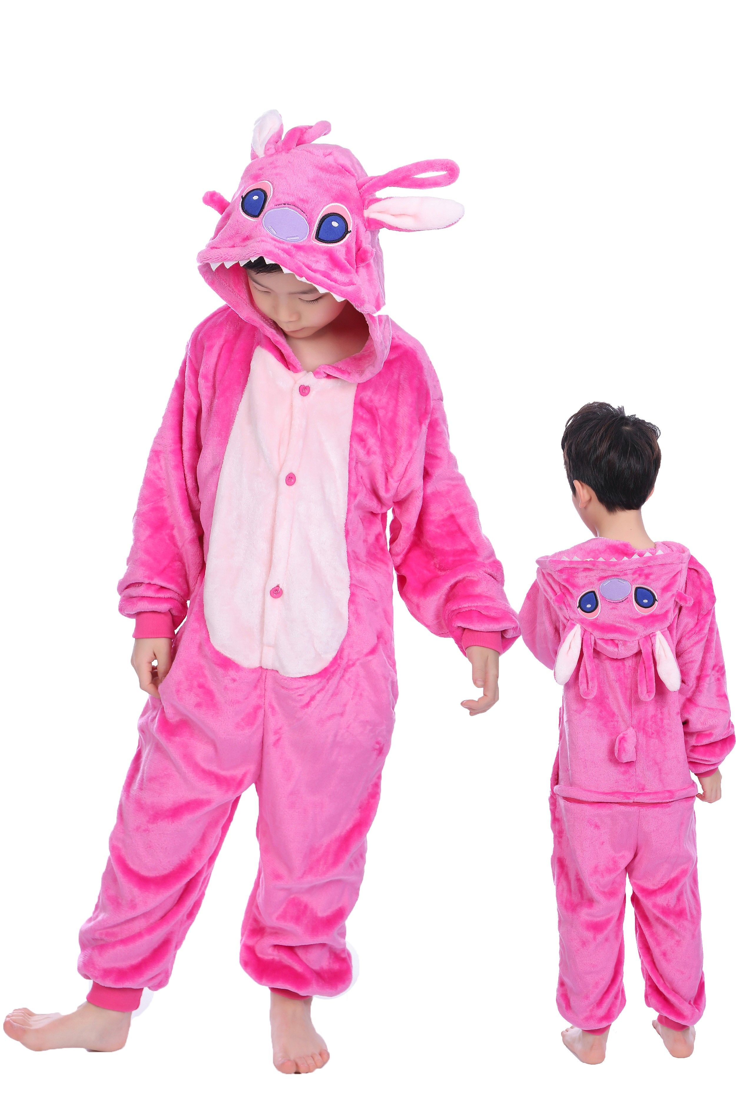 Flannel Pajamas With Animals For Kids