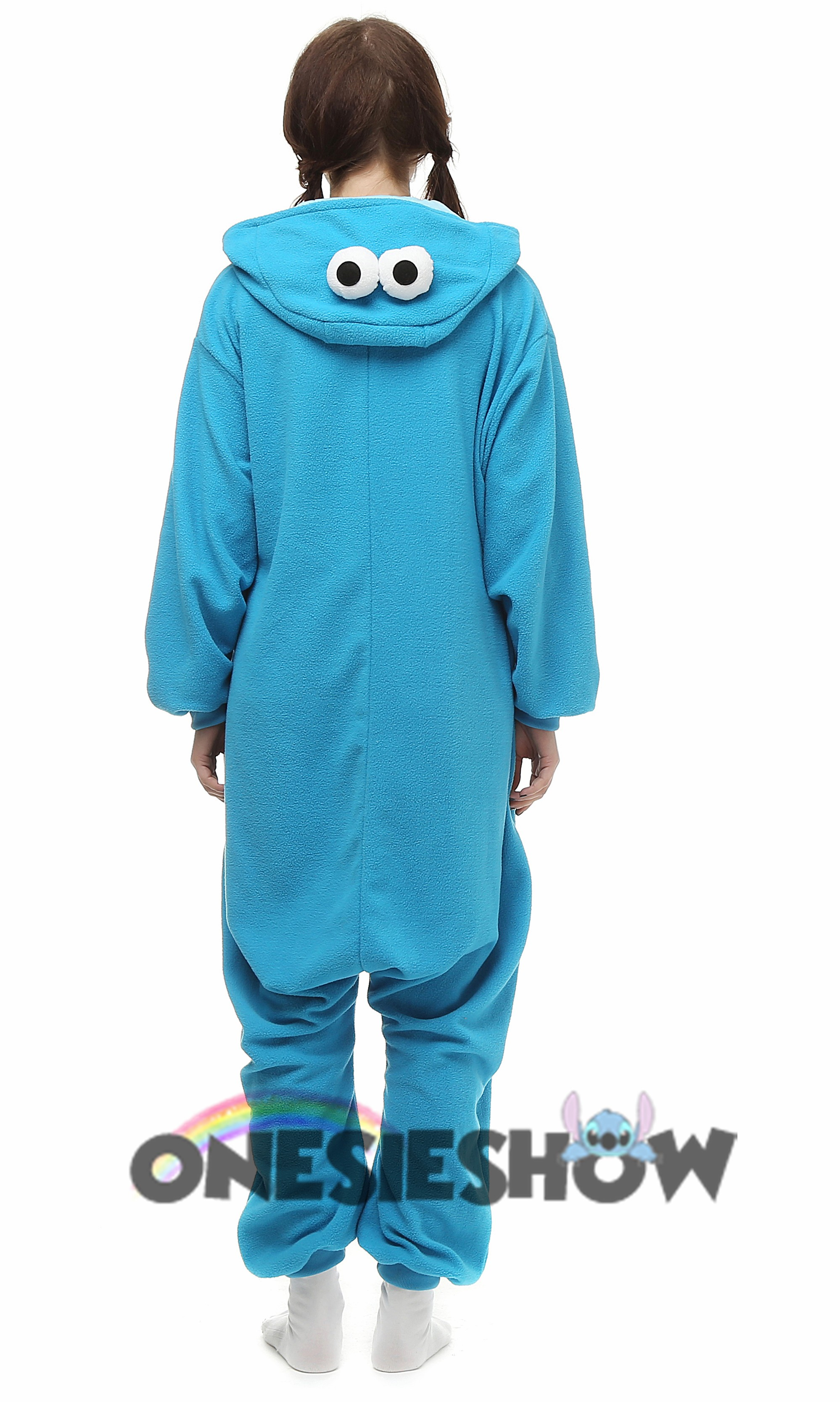 Sesame Street 6 Piece Bath and Body Set Elmo and Cookie Monster Perfect Christmas Gift Ready to Wrap (ELMO) Sold by ErgodE. $ Sesame Street Cookie Monster Women's Hooded One-Piece Pajamas. Sold by Sears. $ $ Sesame Street Little Girls White Elmo Cookie Monster Long Sleeve Sleeper 2T-4T.