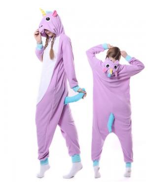 9dfa8cde7cda New Purple Unicorn Kigurumi Onesie Pajamas Animal Unisex Costumes ...