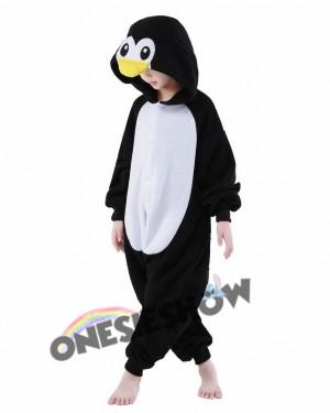 817c8881045f ... Penguin Onesie Kids Kigurumi Polar Fleece Animal Costumes For Teens
